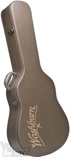 51d66d1613e Washburn GCDNDLX Deluxe Dreadnought Acoustic Guitar Hard Case