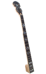 Golden Gate P-214 Hearts and Flowers Inlay 5-String Replacement Banjo Neck