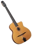Cigano GJ-10 Oval Hole Solid Top Gypsy Jazz Guitar