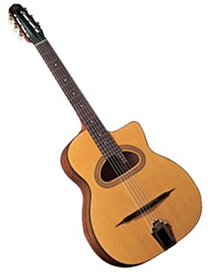 Cigano GJ-15 D-Hole Solid Top Gypsy Jazz Guitar