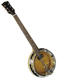 Gold Tone GT-750 Deluxe Banjitar Six String Electric Banjo. Free case, setup and shipping!