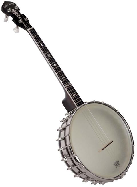 Gold Tone IT-800 4 String Open Back Irish Tenor Banjo w/ Hard Case