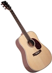Johnson JD-06 Songwriter Series II Solid Top Dreadnought Acoustic Guitar - Mahogany