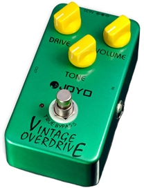 JOYO JF-01 Vintage Overdrive Guitar Effects Pedal FX Stompbox True Bypass
