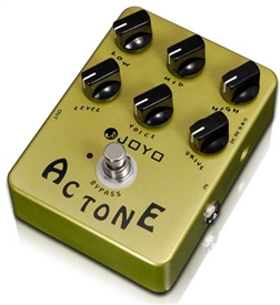 JOYO JF-13 AC Tone Vox AC30 Reproduction Guitar Effects Pedal FX Stompbox