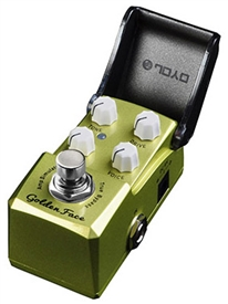 "JOYO JF-308 Ironman Series ""Golden Face"" Guitar Effects Pedal Marshall Amp Simulator FX Mini Stompbox"