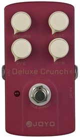 JOYO JF-39 Deluxe Crunch Overdrive Guitar Effects Pedal FX Stompbox True Bypass