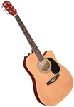 Johnson JG-650 Spruce Top Thinbody Acoustic Electric Guitar