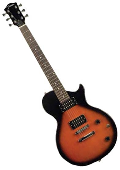 Johnson Jl 750 Sn Lp Les Paul Style Electric Guitar Sunburst