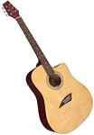 Kona K1 Series Acoustic Dreadnought Cutaway Guitar K1