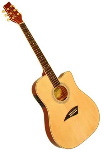 kona k2 series thin body acoustic electric guitar natural. Black Bedroom Furniture Sets. Home Design Ideas