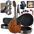 Kentucky KM-252 All-Solid Artist Series A-Style Mandolin Package Combo Kit