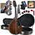Kentucky KM-256 Artist A-Style Mandolin All-Solid Vintage Brown Nitro Finish with Case,Strings DVD Beginner Package