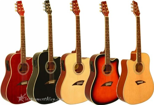 kona k1e cutaway acoustic electric guitar 7 colors and left handed available. Black Bedroom Furniture Sets. Home Design Ideas