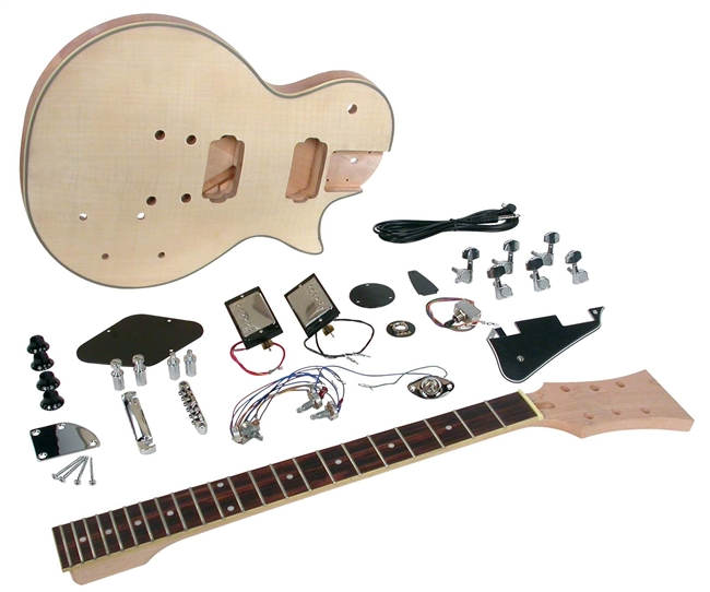 Saga lc 10 do it yourself lp style build your own guitar kit saga lc 10 do it yourself lp style build your own guitar kit builders package solutioingenieria Image collections