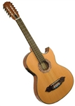 Lucida LG-BQ2-E Thinbody Bajo Quinto Acoustic/Electric 12-String Guitar