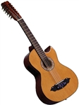 Lucida LG-BS1-E Bajo Sexto Mexican 12 String Acoustic/Electric Guitar