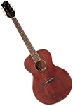 The Loar LH-204-BR Solid Top Pre War Small Body Acoustic Guitar