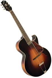 The Loar LH-350-VS Hand Carved Archtop Cutaway Acoustic Electric Jazz Guitar