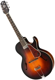 The Loar LH-650-VS Cutaway Acoustic Electric Archtop Guitar - Sunburst