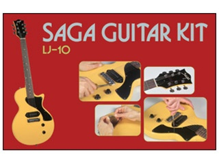 Saga do it yourself lj 10 lp jr style build your own guitar kit saga do it yourself lj 10 lp jr style build your own guitar kit builders package solutioingenieria Gallery