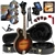 The Loar LM-520-VS Hand Carved F-Style All Solid Mandolin Package