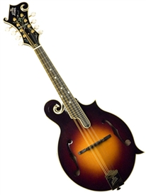 The Loar LM-700-VS Hand-Carved F-Style Solid Mandolin Nitrocellulose Finish - Sunburst. FREE SHIPPPING