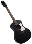 The Loar LO-14-TBK Small Body L-00 Solid Top Acoustic Guitar - Black