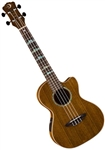 Luna UKE HTT OVA High Tide Tenor Ovangkol Acoustic/Electric Ukulele w/ Preamp