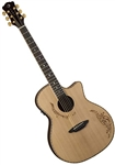 Luna Vicki Genfan Signature Acoustic/Electric Guitar VG SIG