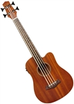 "Gold Tone M-Bass 23"" Short Scale MicroBass Acoustic/Electric Ukulele Uke Micro Bass Guitar w/ Bag"