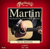 Martin M140 80/20 Light Bronze Round Wound  Acoustic Strings