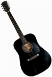 Main Street Dreadnought Acoustic Guitar in Black MA241BK