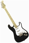 Main Street Double Cutaway Electric Guitar in Black MEDCBK