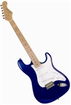 Main Street Double Cutaway Electric Guitar in Blue MEDCBL