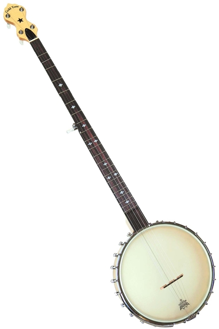 Gold Tone MM-150LN Long Neck Open Back Banjo Maple Mountain