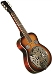 Morgan Monroe MSQ-100-SB Square Neck Resonator Guitar Sunburst w/ Bag