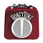 Danelectro N10 Honeytone Portable Mini Travel Amplifier - Burgundy