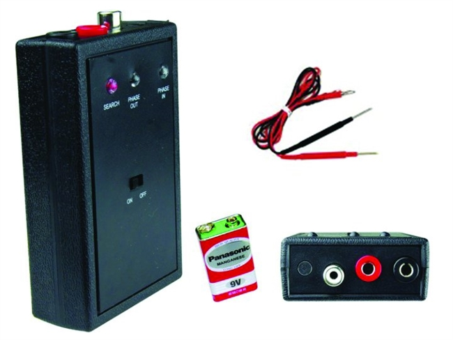 Nippon NTPHASE Phase/Polarity Tester Speaker Testing Unit Station