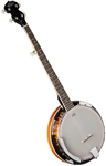 Oscar Schmidt OB4 5 String Resonator Banjo by Washburn