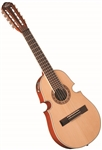 Oscar Schmidt OQ40SE Acoustic/Electric Latin Cuatro with Bag