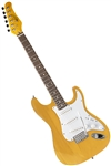Oscar Schmidt OS-300 Natural Solid Body Strat-Style Electric Guitar OS-300-NH
