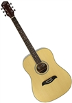 Oscar Schmidt ODN Spruce Top Dreadnought Acoustic Guitar