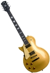 Oscar Schmidt OE20 Series Gold Solid Body LEFT HANDED LP-Style Electric Guitar OE20GLH