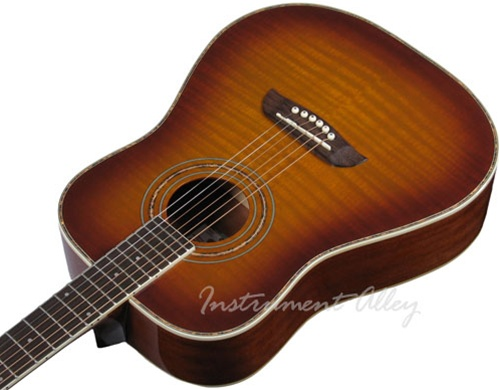 Oscar Schmidt OG1 Spruce Top 3 4 Size Kids Acoustic Guitar Natural Red Blue Black Flame Sunburst