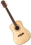Oscar Schmidt OGHS Spruce Top 1/2 Size Kids Acoustic Guitar Junior Steel String