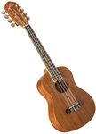 Oscar Schmidt OU28T Eight String Tenor Satin Mahogany 8-String Ukulele Uke