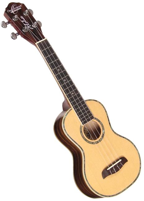 oscar schmidt ou3 spruce rosewood concert ukulele uke