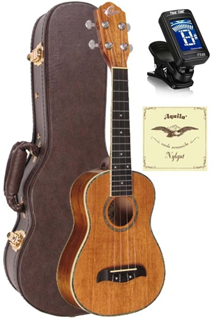 Oscar Schmidt Ou5 Koa Concert Ukulele Musical Instruments & Gear Acoustic Electric Guitars
