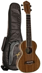 Oscar Schmidt OU6WK Wide Neck Hawaiian Koa Tenor Ukulele Uke with Gig Bag